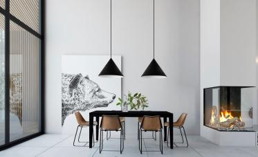Minimalist Dining Rooms Leave Hungry Style