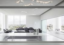 Minimalist Penthouse Israel Focuses Attention Views
