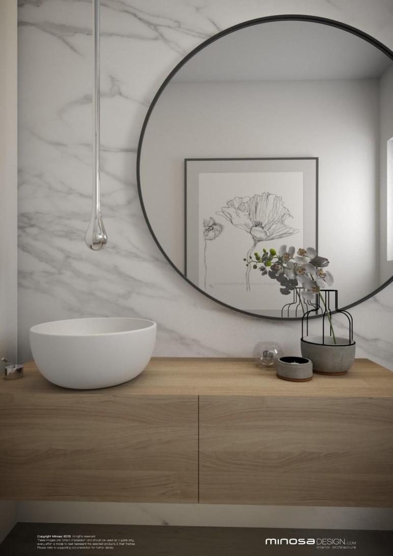 Minosa Powder Room Wow Bathroom