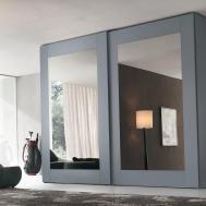 Mirror Doors Closet Home Design Ideas