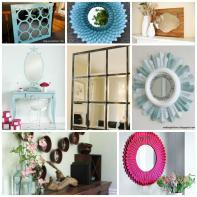 Mirror Frame Decorating Ideas All