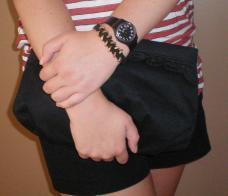 Miss Allie Jane Diy String Hex Nut Bracelet