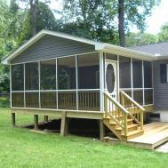 Mobile Home Screened Porch Ideas