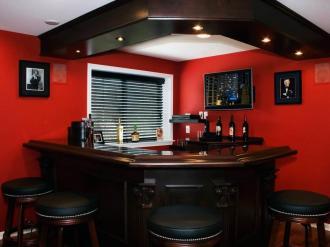 Modern Bar Designs Small Spaces