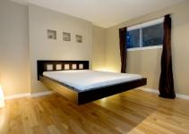 Modern Bedroom Design Ideas Cool Black Wood Floating