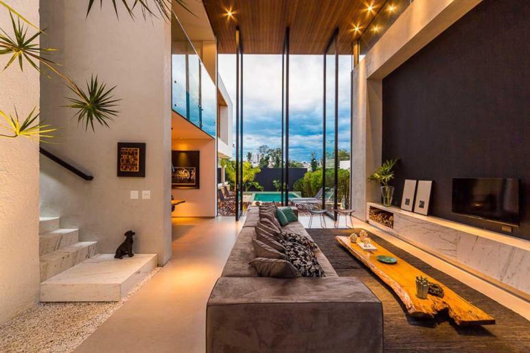 Modern Brazilian Home Taking Elegant Approach Design