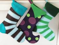 Modern Christmas Stockings Choose One