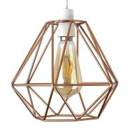 Modern Copper Wire Frame Ceiling Light Pendant Shade