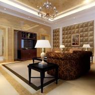 Modern Cozy Living Room Model Max Cgtrader
