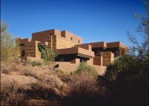 Modern Desert House Luxury Life Nature
