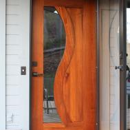 Modern Front Door Glass Panel French Doors