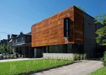 Modern Heathdale Residence Toronto Cor Ten Facade