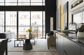 Modern Industrial Interior Design Beautiful Open