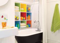 Modern Kids Bathroom Furniture 6162