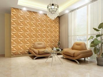 Modern Living Room Decoration Feature Geometric Pattern