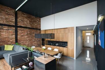 Modern Loft Surprising Elements
