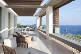 Modern Mediterranean Villa Ibiza Panoramic Ocean