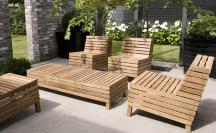 Modern Patio Furniture Chic Treatment Fancy House