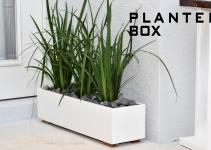 Modern Planter Box Diy Build