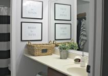 Modern Redo Small Bathroom Remodel Makeover Ideas