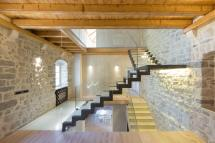 Modern Renovation 19th Century Old Stone House