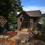 Modern Rustic Lake House Georgia Bluff Lodge