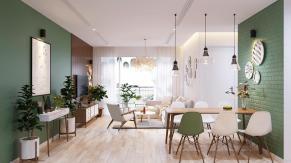 Modern Scandinavian Home Concept Design Suitable Young