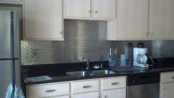 Modern Stainless Steel Backsplash Homesfeed
