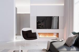 Modern Stylish Apartment Interior Design Simplicity