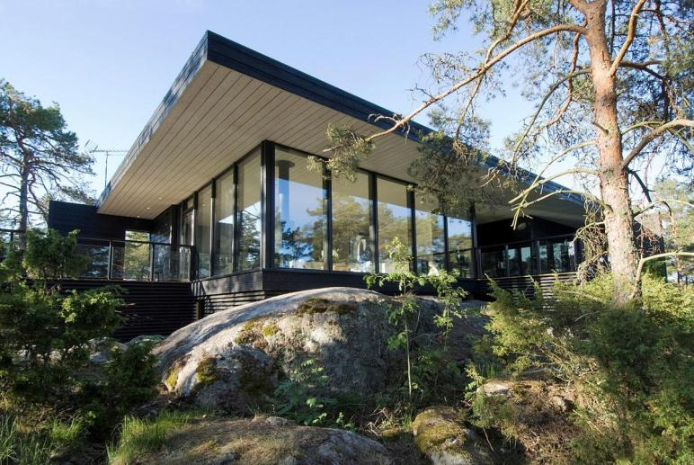 Modern Vacation Home Merimasku Finland