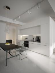 Modern White Kitchen Diner Interior Design Ideas