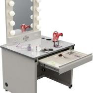 Modern White Tone Dressing Table Drawer Lights