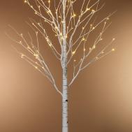 Modern White Twig Christmas Tree Lights