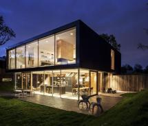 Moderne Villa Multiplex Accenten Binnenkijken