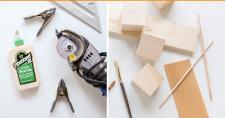 Modernize Your Boring Desk Diy Giant Wood Block