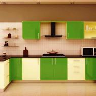 Modular Kitchen Indian Style Over Italian