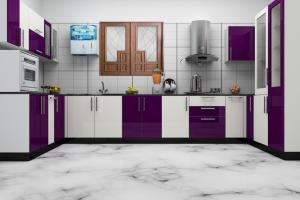 Modular Style Kitchen Most Efficient