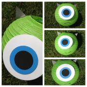 Monsters Inc Mike Wazowski Sulley Inspired Paper Lantern