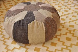 Moroccan Style Handmade Pouf Floor Pillow Seat Made