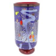 Murano Glass Vases Modern Art Vase Blue
