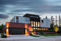 Natural Cheap Modern Brick Wood House Architecture