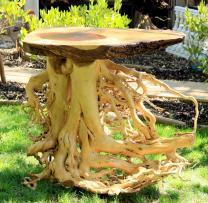 Natural Wood Sofa Table Farm House Kitchen Live Edge