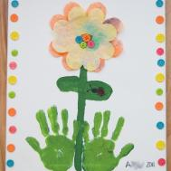 Nature Grace Homeschool Growing Handprints