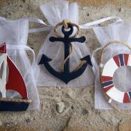 Nautical Baby Shower Favor Bags Birthday
