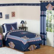 Nautical Themed Boys Bedding Twin Queen Comforter