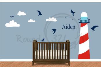 Nautical Wall Decor Baby Nursery Thenurseries