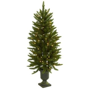 Nearly Natural Artificial Christmas Tree Urn