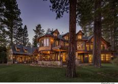 New Home Spotlight Tewesi Tahoe Lakefront Lodge Lake