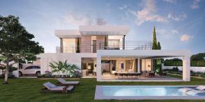 New Modern Villa Private Pool Panoramic Views