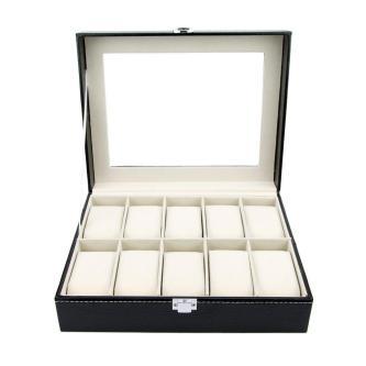 New Premium Modern Watch Box Men Women Jewelry Case